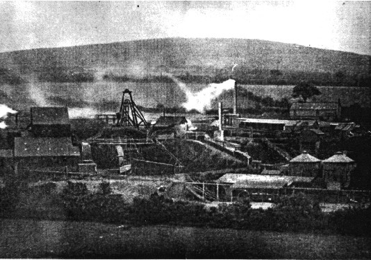 An old photograph of Wheal Friendship