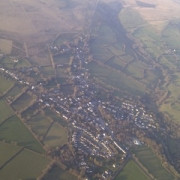 Aerial photo of Mary Tavy