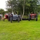 Vintage tractors at the Village Show